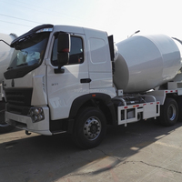 HOWO A7 chassis, CIMC LINYU concrete mixer truck for sale