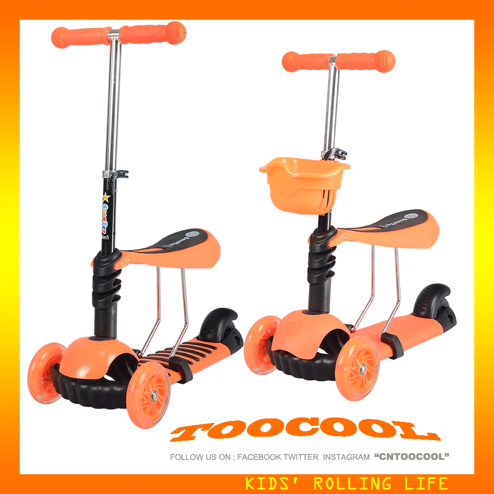 2016 high quality TK03 kid on kick scooter for sale