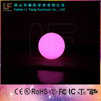 New product Round Fashion outdoor floating led pool ball garden rechargeable garden magic light led ball light