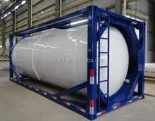 20ft standard ISO oil storage tank/40ft Container fuel tank ,40 ft ISO fuel tanker container