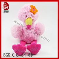 Lovely stuffed plush bird toy