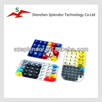 Customized Colorful Sensitive Rubber Silicone Telecommunication