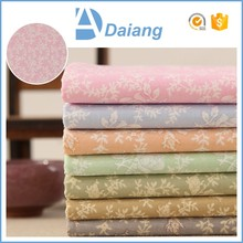new products wholesale cheap small custom flower 100% cotton drill fabric for stocklots