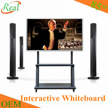 "85"" interactive whiteboard with android tv"