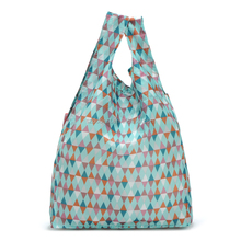 oem high quality polyester compact reusable shopping bag