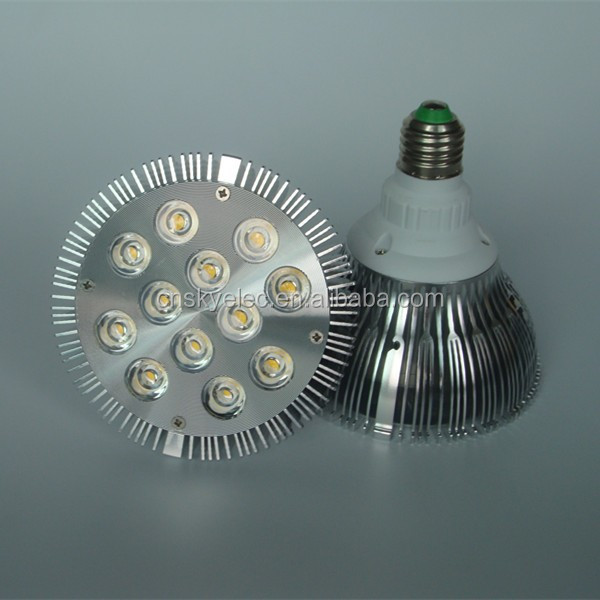 High power aluminum RGB LED 12W Par38 E27 light bulb led par 38 par38 led bulbs