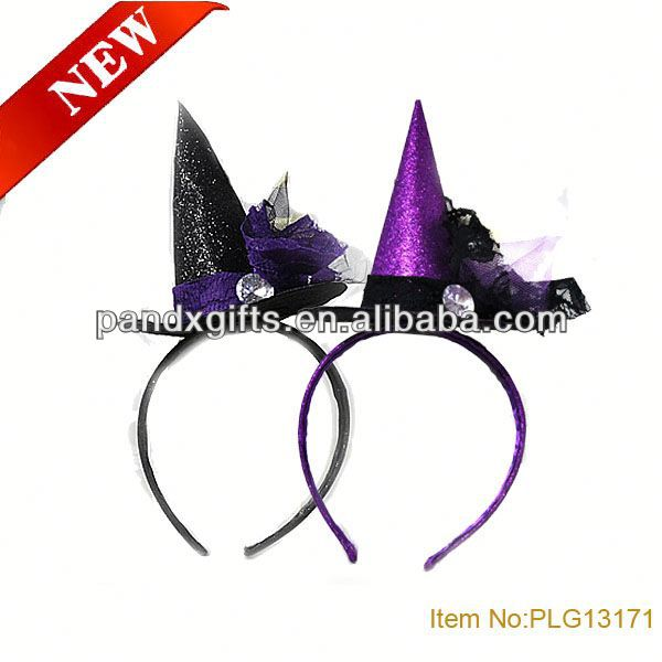 Promotional halloween product child witch hats sexy fantasy witch costume