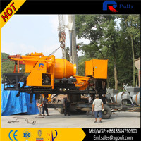 Pully JBT40-P1 China high quality trailer concrete mixer pump, concrete pump mixer