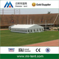 Durable canvas wall pvc roof aluminum tent for party