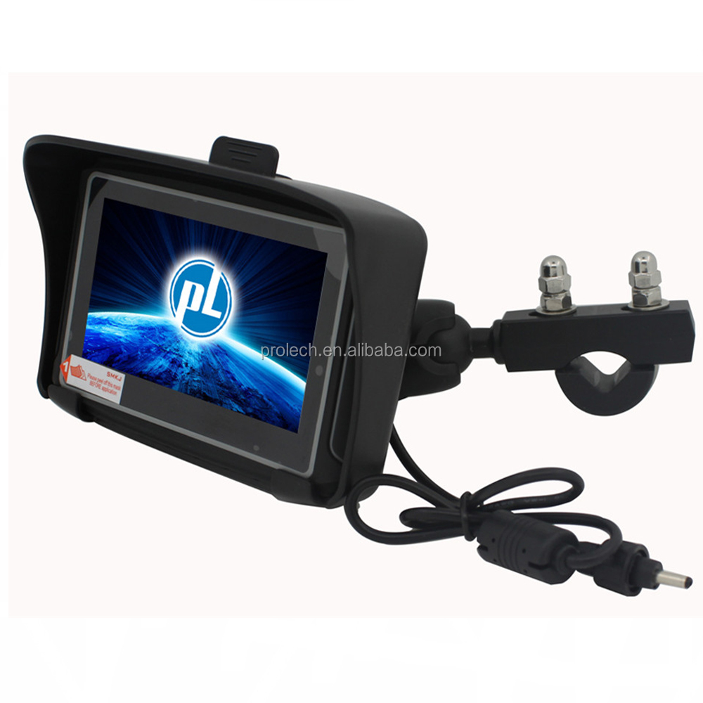 RIDER Waterproof Motorcycle GPS Navigator with Lifetime USA, Canada, Europe, India map