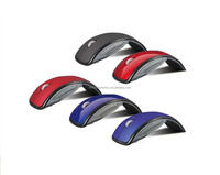 Factory Sales Foldable Wireless Mouse for PC USB 2.4Ghz Snap-in Transceiver Foldable Colorful mouse