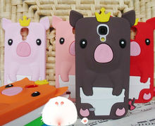 wholesale animal shape silicom case for Samsung galaxy s4 i9500