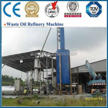 Newest Energy Saving crude oil/pyrolysis oil/waste oil distillation plant with non pollution