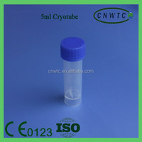 Disposable Lab Conical Bottom 0.5ml Cryovial Tube