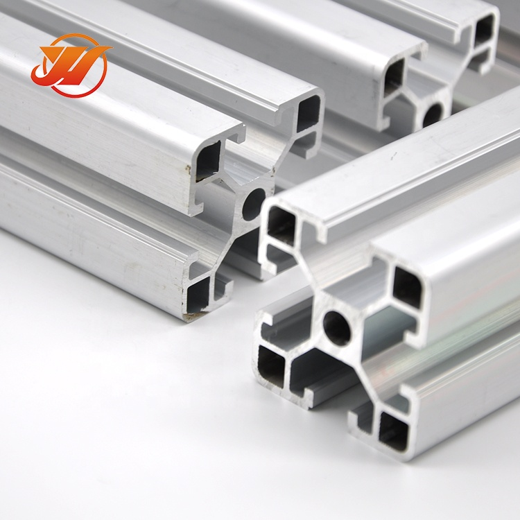 fabrication works 40x40 3030 200*50 20x20 2040 v slot supplier oem profile <strong>aluminium</strong> price per kg