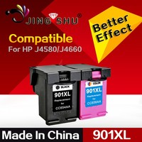 Compatible ink cartridge 901XL/CC654AA/CC656AA for HP Officejet J4580, J4660, J4680 printers