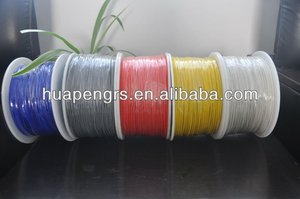 many colors silicon coated fiberglass sleeving