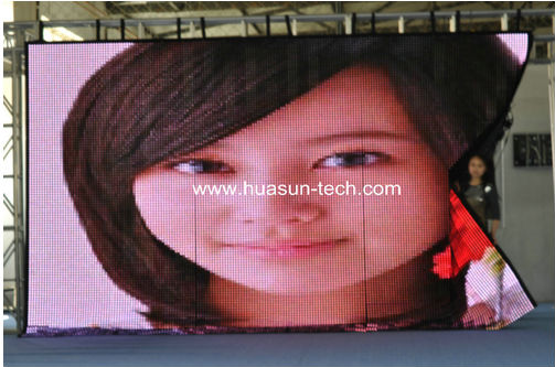 P18.25 ultra soft led display, Led flexible display, Foldable Led Screen, flexible led curtain