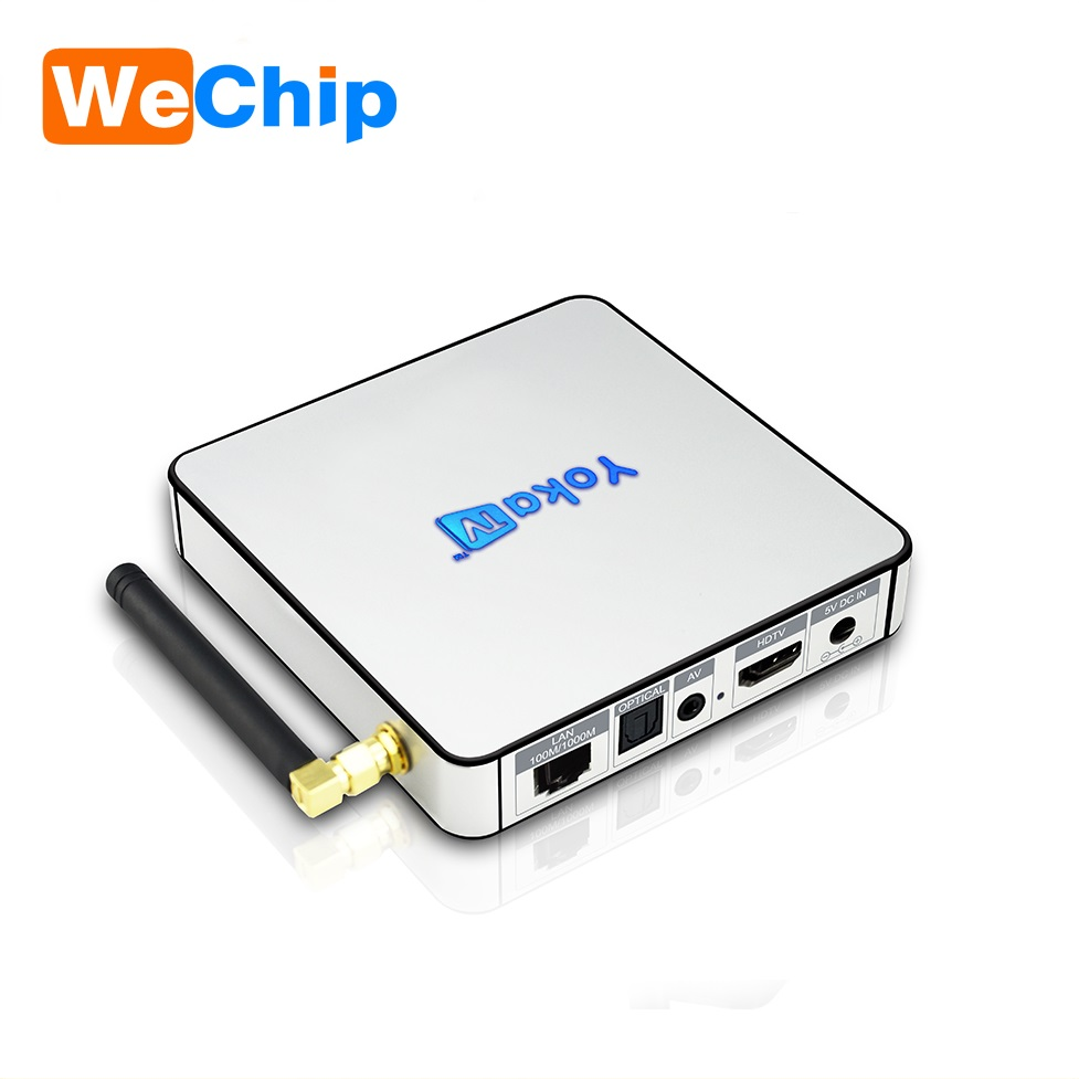 Hot selling of factory 2GB 32GB Android 6.0 marshmallow Set Top Box Wifi Bluetooth HD 4K Media Player