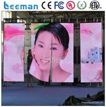 outdoor led flex display screen flexible cortinas led