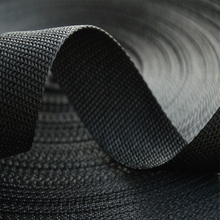 Customized striped pp webbing straps canvas webbing belt webbing with high quality