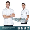 Custom Top Quality Cheap Restaurant Chef Uniform by Clothing Manufacturer