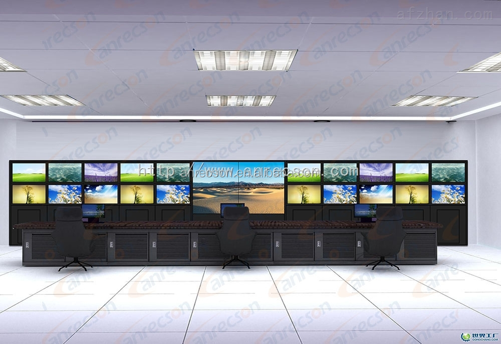 Indoor Application and TFT Type LCD TV wall for government office