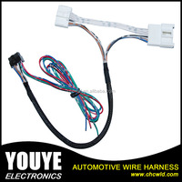 Customized automotive rearview mirror wiring harness /cable harness supplies