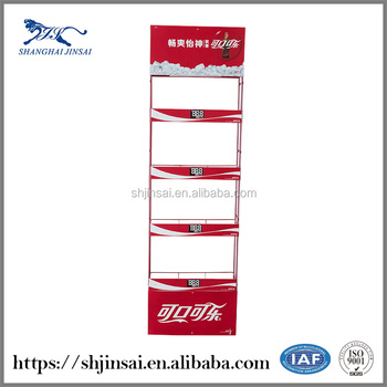 Brand Direct Selling Hot Sale High Quality Beverage Metal Hook Display Stands