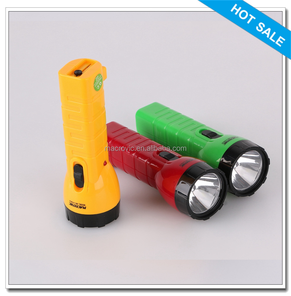new design rechargeable portable outdoor led army flashlight