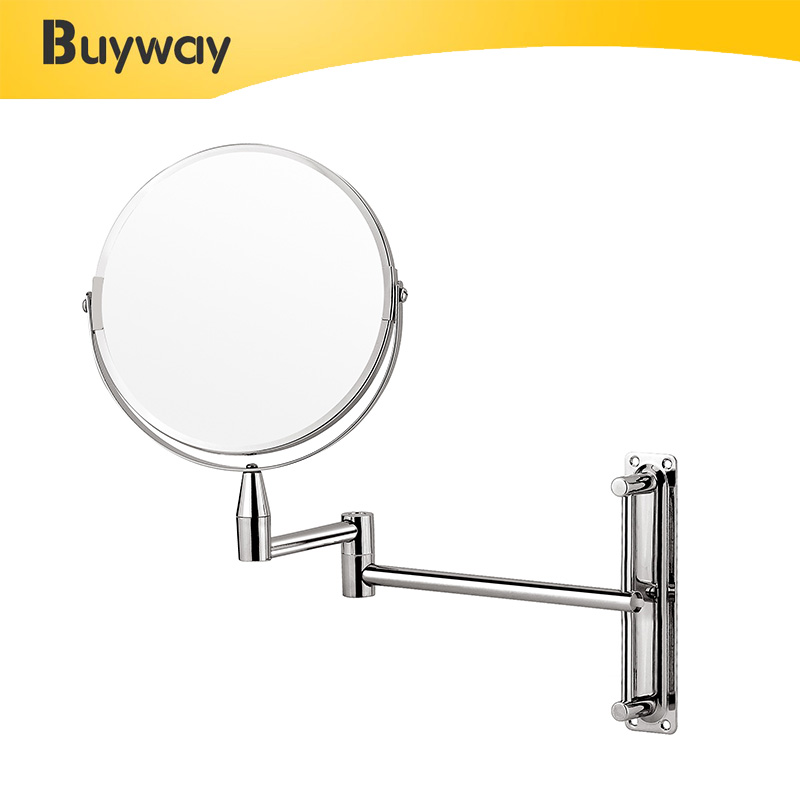 Bathroom foldable wall mounted Magnifying Cosmetic Mirror