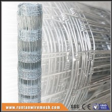 Hinge joint woven wire mesh fence