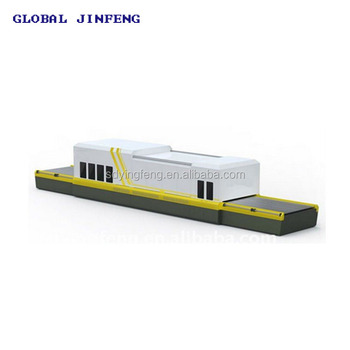JFF0810 Flat glass tempering and bending furnace with convection for building glass produce