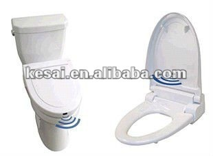 Touchless sensor toilet seat cover touchless sanitary for Touchless toilet seat