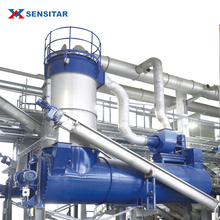 Industrial high efficiency water-flow type cooler waste poultry processing plant machinery