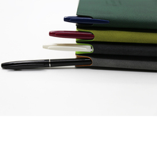 customized PU softcover notebook/diary with ballpoint pen