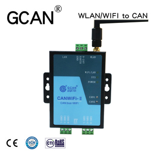 2.4G compatible SOCKET work CAN bus to WIFI converter gateway router