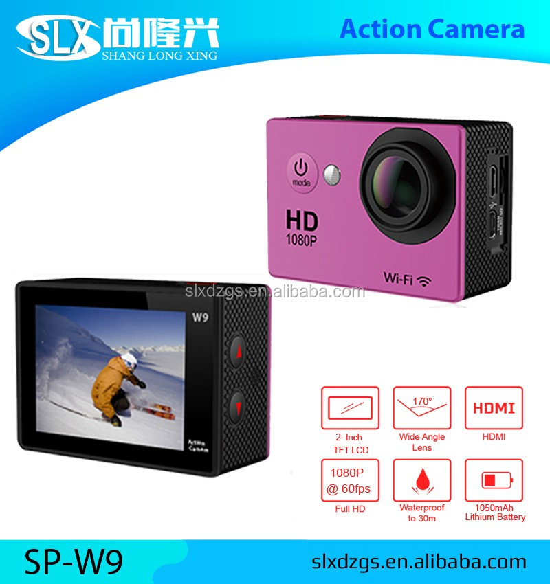 Factory Wholesale Waterproof 360 Action Camera Hd Mini Sport Dv 1080p Sport Camera