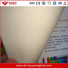 Industrial digital printing wide format inkjet canvas roll