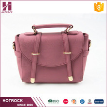 Trade assurance ladies handbag women pu bags young leather crossbody bag