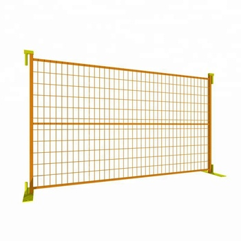 Used vinyl ca portable temporary fence panels