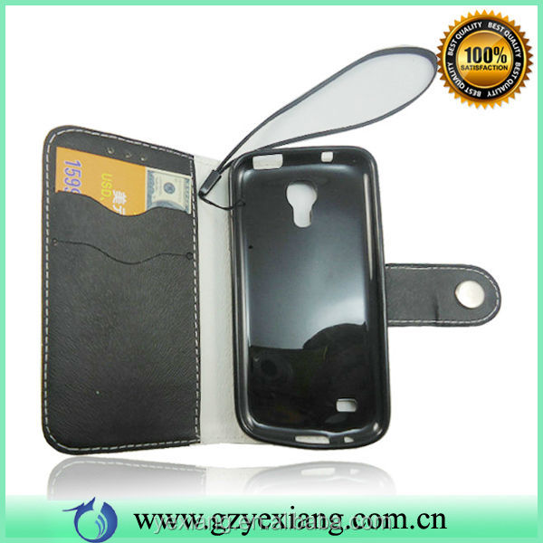 For Samsung Galaxy S4 Mini I9109 Case, Credit Card Slot Case For S4 Mini