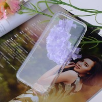Glossy finish TPU mobile phone case for iphone6 soft cover