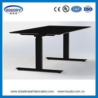 Office home furniture stand up adjustable height desk hardware with high quality