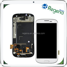 100% Original Smartphone Spare Parts for Samsung Galaxy S3 LCD Assembly with Digitizer for Galaxy i9300