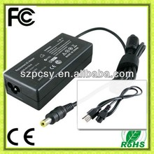 19V 3.16A 60W mini desktop power supply for Fujitsu notebook adapter with CE,RoHS, FCC, C-Tick.