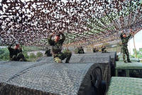 anti radar military free shipping camouflage net desert for Hunting Blinds,anti fire Camo Net,multicam dpm custom hunting net