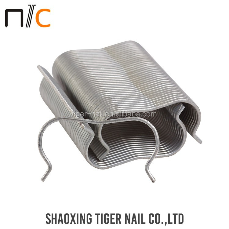 Durable OEM customized u-shaped nail making fence staple/u-shape nail