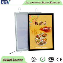 Custom Poster print Aluminum Snap Frame Store Sign For Wall Mounted Led Menu Light Box