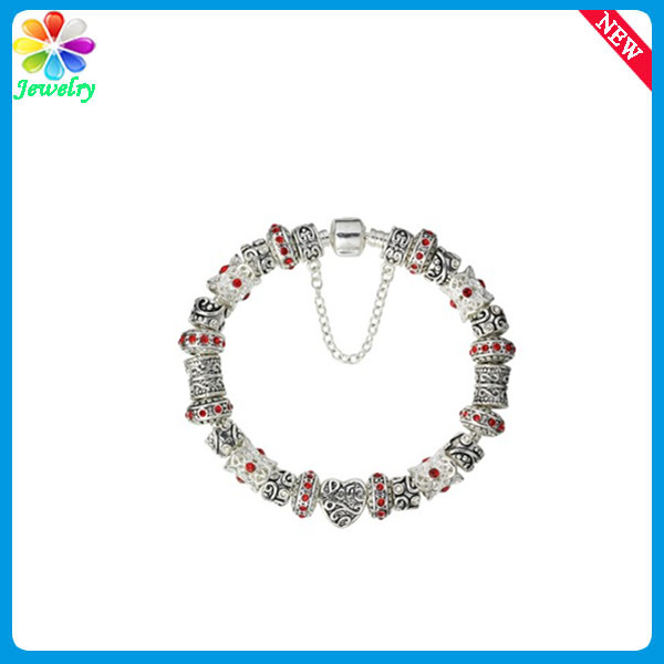 Handmade Top Quality 925 Sterling Silver Beads Metal Charms For Paracord Bracelets